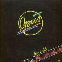 Gramofonska ploča Opus Live Is Life 825 542-1, stanje ploče je 10/10