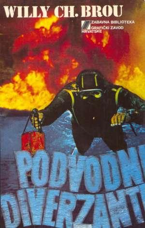 Willy Ch. Brou Podvodni Diverzanti tvrdi uvez