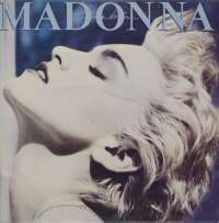 Gramofonska ploča Madonna True Blue LSWB 78044, stanje ploče je 10/10