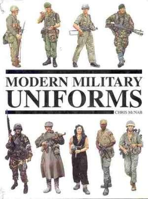 Modern military uniforms Chris McNab tvrdi uvez