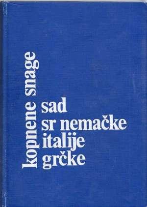 G.a. Kopnene Snage Sad, Sr Nemačke, Italije I Grčke tvrdi uvez