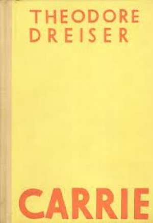 Carrie Dreiser Theodore tvrdi uvez