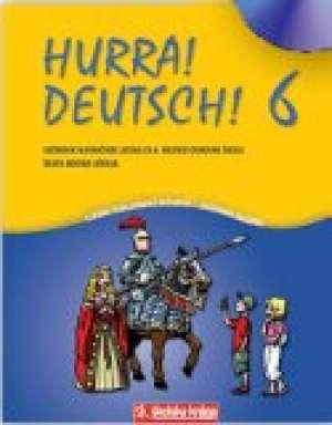 Jadranka Salopek, Ljerka Tomljenović-Biškupić - HURRA! DEUTSCH! 6 : udžbenik njemačkog jezika s CD-om za 6. razred osnovne škole, 6. godina učenja