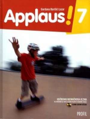 APPLAUS! 7 : udžbenik njemačkoga jezika sa zvučnim CD-om za sedmi razred osnovne škole (sedma godina učenja) - Gordana Barišić-Lazar