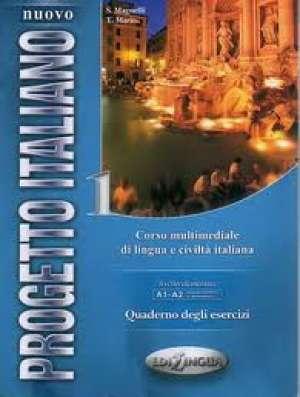 nuovo progetto italiano 1 : quaderno degli esercizi : radna bilježnica iz talijanskog jezika za 1. i 2. razred četverogodišnj autora S. Magnelli, T. Marin
