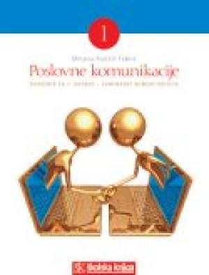 Mirjana Rubčić Fabris - POSLOVNE KOMUNIKACIJE 1 : udžbenik za 1. razred za zanimanje KOMERCIJALIST