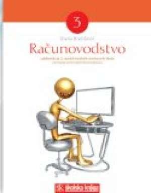 Dijana Bratičević - RAČUNOVODSTVO  3 : udžbenik za 3. razred srednjih škole : smjer KOMERCIJALIST/KOMERCIJALISTICA