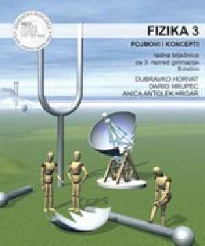 fizika 3, pojmovi i koncepti radna bilježnica za 3.razred gimnazije (B-inačica) autora <b>anica antolek hrgar, d.horvat, d. hrupec</b>
