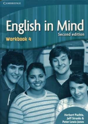 ENGLISH IN MIND 4: Workbook 4: Za učenje engleskog jezika autora peter lewis - jones, herbert puchta, jeff stranks