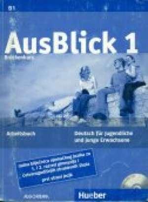 ausblick  1, bruckenkurs radna bilježnica njemačkog jezika za 1 .i 2. razred gimnazija ,1 strani jezik autora Anni Fischer-Mitziviris, Sylvia Janke-Papanikolaou