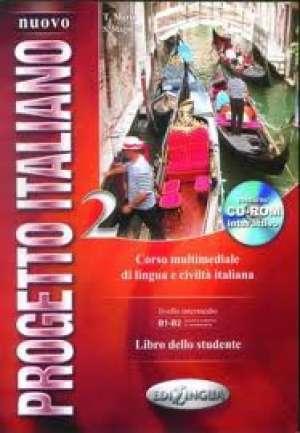 NUOVO PROGETTO ITALIANO 2 : libro dello studente + CD-ROM : udžbenik talijanskog jezika za 3. i 4. razred četverogodišnje str autora S. Magnelli, T. Marin