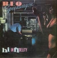 Gramofonska ploča REO Speedwagon Hi Infidelity EPC 84700, stanje ploče je 8/10