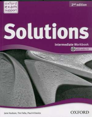 Jane Hudson, Tim Falla, Paul A. Davies - Solution 2nd edition, INTERMEDIATE workbook with audio CD : radna bilježnica za engleski jezik B1+ za 1. ili 2. razred