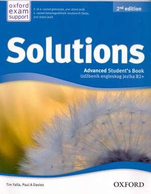 SOLUTIONS 2nd EDITION, ADVANCED STUDENTS BOOK : UDŽBENIK engleskog jezika B2+ za 3. ili 4. razred gimnazije, prvi strani jezik autora Tim Falla, Paul A. Davies