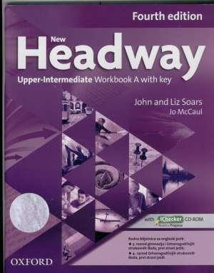 new headway  FOURTH edition  UPPER-INTERMEDIATE  workbook A autora John Soars, Liz Soars