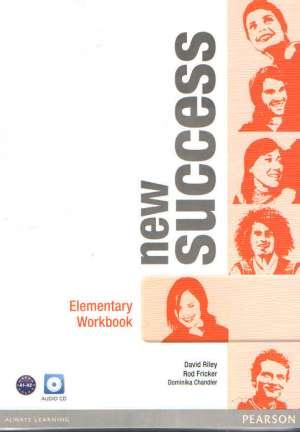 new success  ELEMENTARY : radna bilježnica engleskog jezika za 1. ili 1. i 2. razred srednjih strukovnih trogodišnjih (Kopiraj) autora David Riley, Rod Fricker, Dominika Chandler