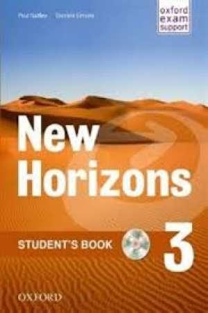 NEW HORIZONS 3 STUDENTS BOOK : udžbenik engleskog jezika za 3. razred gimnazija, drugi strani jezik autora Paul Radley, Daniela Simons, Ronan McGuinness