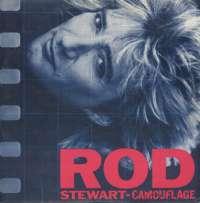 Gramofonska ploča Rod Stewart Camouflage WB 925 095-1, stanje ploče je 9/10