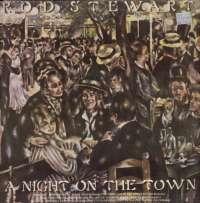Gramofonska ploča Rod Stewart A Night On The Town WB 56234, stanje ploče je 8/10