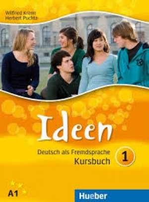 IDEEN 1 : udžbenik za njemački jezik , 1. i 2. razred gimnazija i strukovnih škola, 1. i 2. godina učenja autora Wilfried Krenn, Herbert Puchta