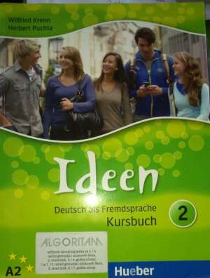 Wilfried Krenn, Herbert Puchta - IDEEN 2 : udžbenik njemačkog jezika za 3. i 4. razred gimnazija , 3. i 4. godina učenja;