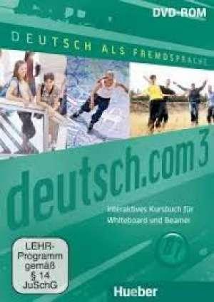 Gerhard Neuner, Sara Vicente, Carmen Cristache, Lina Pilypaityte - DEUTSCH.COM 3 : udžbenik njemačkog jezika za 3. i 4. razred gimnazija  2. strani jezik, 8. i 9. godina učenja