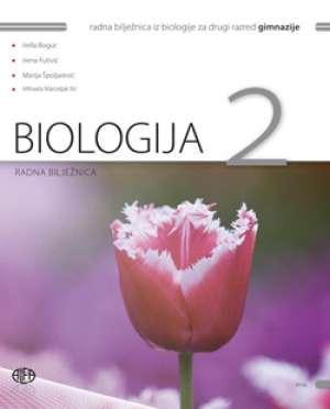 biologija 2 : radna bilježnica iz biologije za drugi razred gimnazije autora Irella Bogut, Irena Futivić, Marija Špoljarević, Mihaela Marceljak Ilić