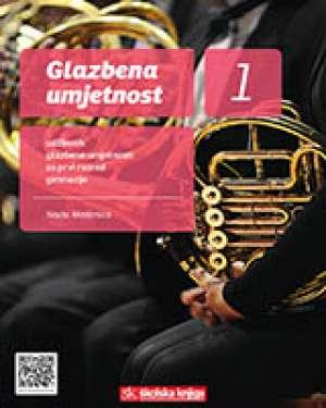 GLAZBENA UMJETNOST 1 : udžbenik glazbene umjetnosti s višemedijskim nastavnim materijalima na 3 CD-a u prvom razredu gimnazij autora Nada Medenica