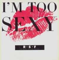 Gramofonska ploča Right Said Fred Im Too Sexy CON 4023-0, stanje ploče je 8/10