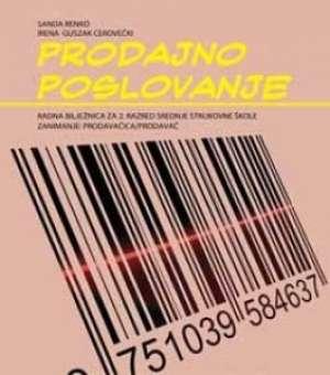 prodajno poslovanje : radna bilježnica za prodavače autora Sanda Renko, Irena Guszak