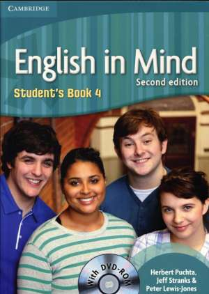 Herbert Puchta, Jeff Stranks, Peter Lewis-Jones - ENGLISH IN MIND 4 : Student s book 4 with DVD - ROM: za učenje engleskog kao 1.str. jez. u 4. god. u strukovnim školama
