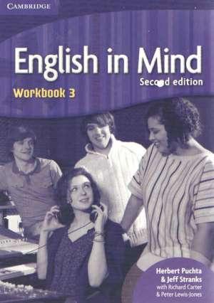 Herbert Puchta, Jeff Stranks, Peter Lewis-Jones - ENGLISH IN MIND 3 :  Workbook 3: za učenje engleskog kao 1. stranog jezika u 4.-god. strukovnim školama