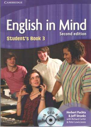 Herbert Puchta, Jeff Stranks, Peter Lewis-Jones - ENGLISH IN MIND 3 : Student's Book 3 with DVD-ROM: za učenje engleskog kao 1. stranog jezika u 4.-god. strukovnim školama