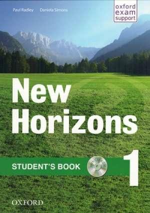 NEW HORIZONS 1 STUDENT'S BOOK : udžbenik engleskog jezika za 1. razred strukovnih škola, prvi strani jezik; 1. razred autora Paul Radley, Daniela Simons