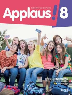 APPLAUS! 8 : udžbenik njemačkoga jezika sa zvučnim cd-om za osmi razred osnovne škole, VIII. godina učenja/+ - Gordana Barišić Lazar, Ivana Vukančić