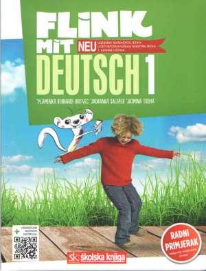 FLINK MIT DEUTSCH - NEU! 1 : udžbenik njemačkog jezika s višemedijskim nastavnim materijalima u četvrtom razredu osnovne škol - Jadranka Salopek, Plamenka Bernardi-Britvec, Jasmina Troha