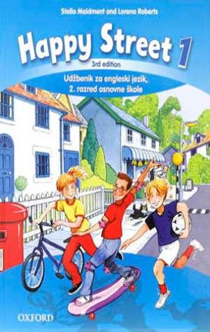 Stella Maidment, Lorena Roberts - HAPPY STREET 1 THIRD EDITION, CLASS BOOK : udžbenik engleskog jezika za drugi razred osnovne škole, druga godina učenja