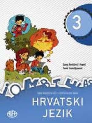 HRVATSKI JEZIK 3 : jezični udžbenik za treći razred osnovne škole - Dunja Pavličević-Franić, Damir Domišljanović
