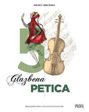GLAZBENA PETICA : udžbenik glazbene kulture s tri cd-a za peti razred osnovne škole - Saša Marić, Ljiljana Ščedrov