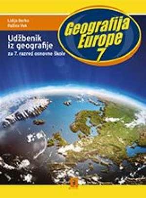 GEOGRAFIJA EUROPE 7 udžbenik - Lidija Borko, Ružica Vuk