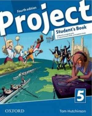 PROJECT FOURTH EDITION, STUDENT S BOOK 5 : udžbenik engleskog jezika za 8. razred osnovne škole, osma godina učenja/* autora Tom Hutchinson