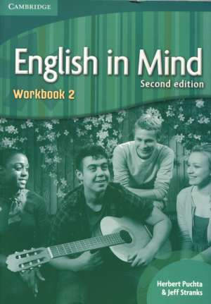 Herbert Puchta, Jeff Stranks - ENGLISH IN MIND 2: Workbook 2: Za učenje engleskog jezika