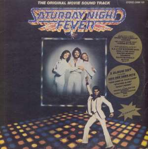 Saturday Night Fever - Original Movie Soundtrack - Bee Gees / Yvonne Elliman... - 2LP 5921 / 5922