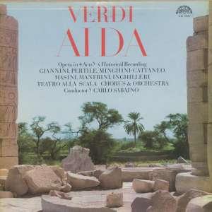 Gramofonska ploča Giuseppe Verdi / Orchestra Del Teatro Alla Scala Aida 0 12 1171-3, stanje ploče je 10/10