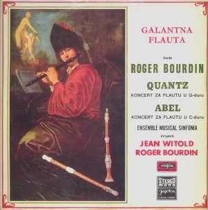 Gramofonska ploča Roger Bourdin Galantna Flauta LSVG 70468, stanje ploče je 10/10