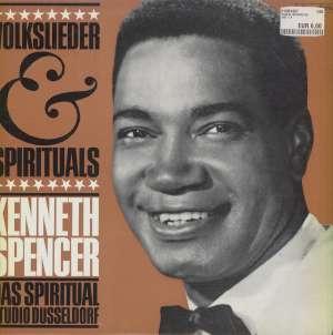 Gramofonska ploča Kenneth Spencer Volkslieder - Spirituals 75 546, stanje ploče je 10/10