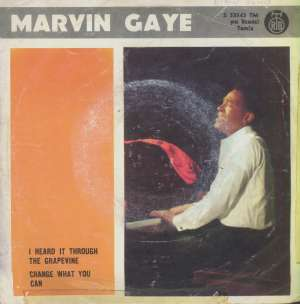 I Heard It Through The Grapevine / Change What You Can Marvin Gaye