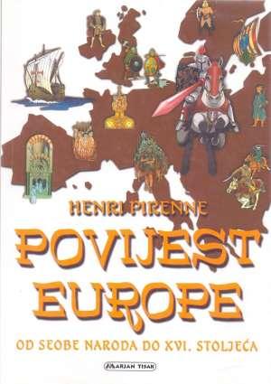Povijest Europe Henri Pirenne meki uvez
