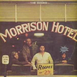 Gramofonska ploča Doors Morrison Hotel ELK 42080, stanje ploče je 8/10