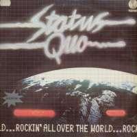 Gramofonska ploča Status Quo Rockin' All Over The World LP 5731, stanje ploče je 9/10